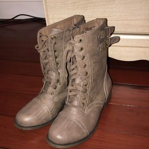Rampage combat boots worn maybe once.